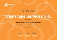 CAMSCAPE -ROMANIA  avast authorized reseller