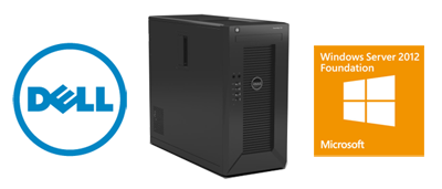 Server Dell PowerEdge T20 plus licenta Microsoft Windows Server 2012 R2 Foundation