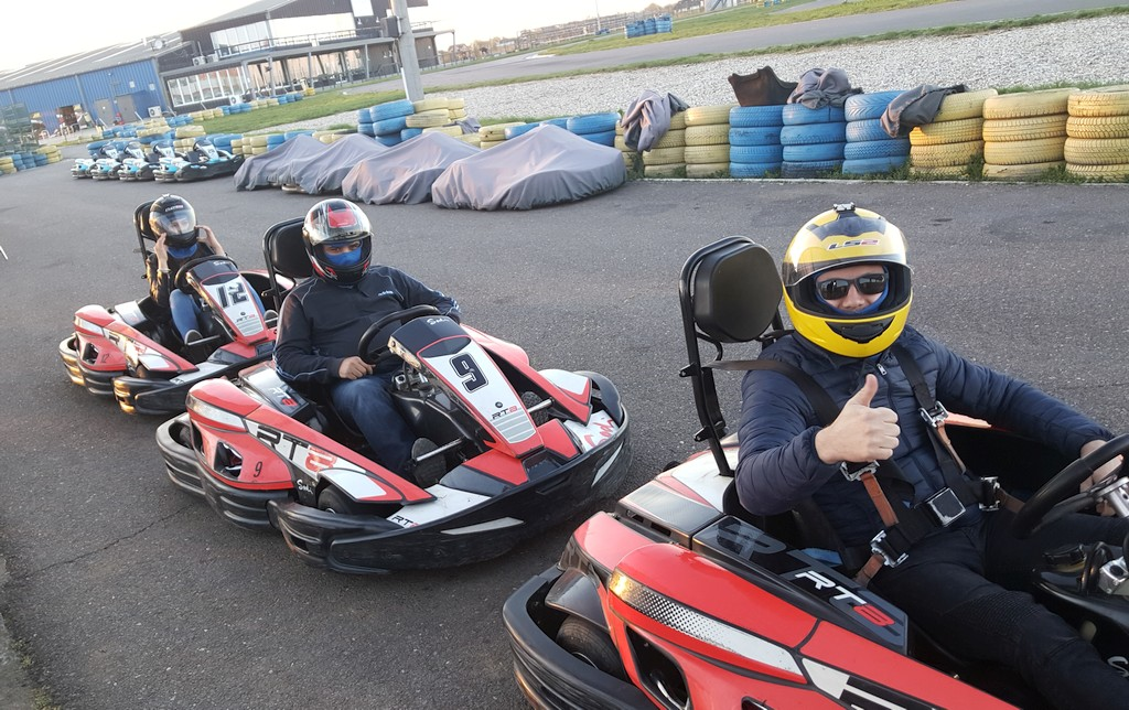 camscape it services, karting, team building