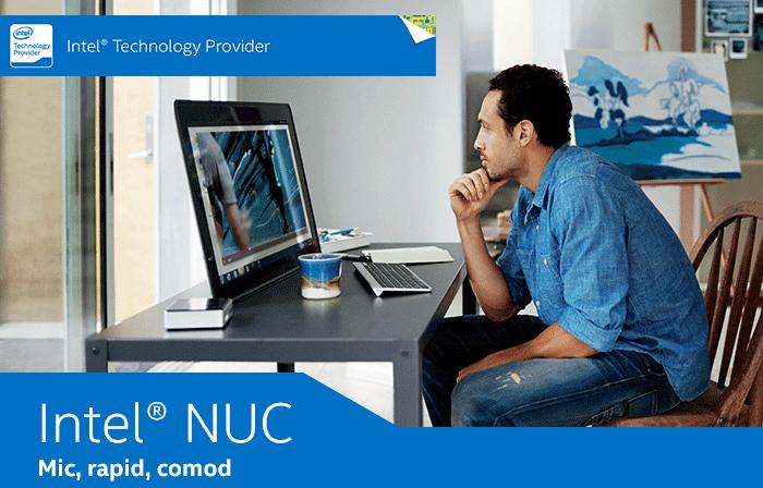 Intel NUC, calculatorul silentios pentru spatii mici