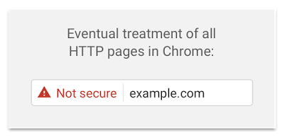 Chrome 56 Not secure